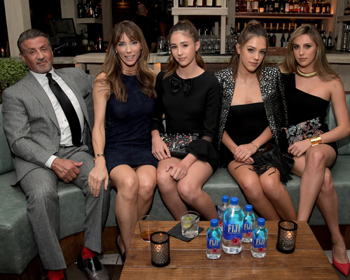 sylvester-stallone-wife-daughters