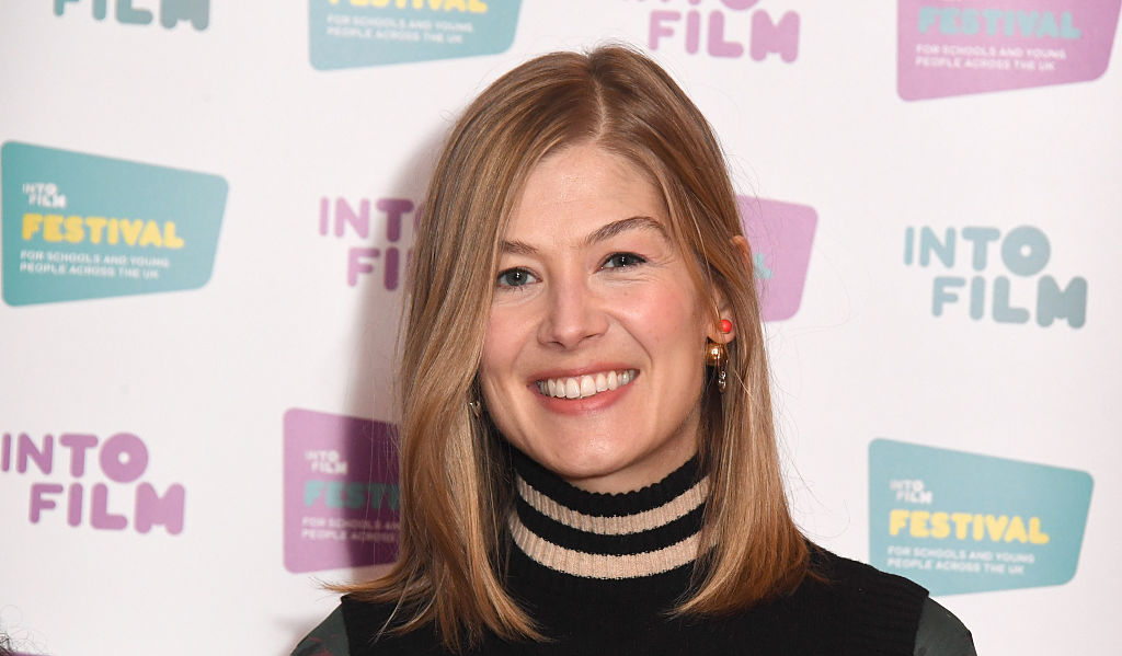 Into Film Festival Launched By Rosamund Pike - Photocall