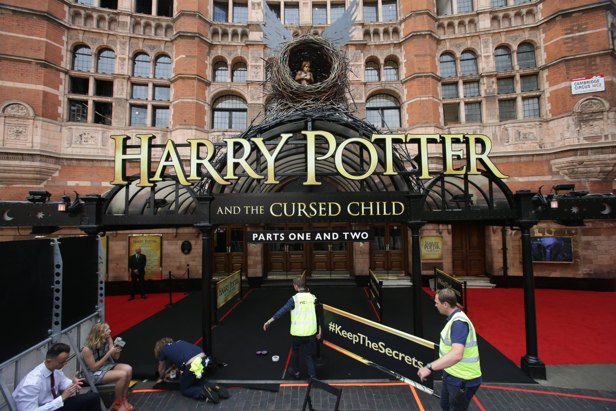 BRITAIN-ENTERTAINMENT-LITERATURE-THEATRE-HARRY POTTER