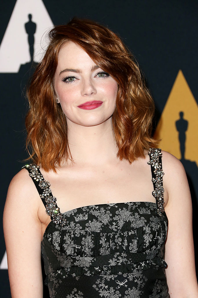 HOLLYWOOD, CA - NOVEMBER 12:  Actress Emma Stone attends the Academy of Motion Picture Arts and Sciences' 8th annual Governors Awards at The Ray Dolby Ballroom at Hollywood & Highland Center on November 12, 2016 in Hollywood, California.  (Photo by Frederick M. Brown/Getty Images)
