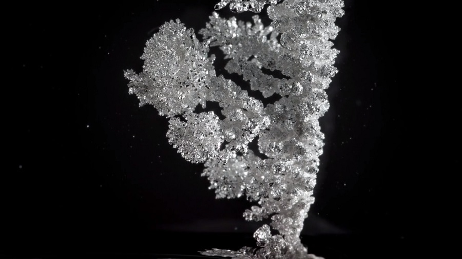crystals-forming