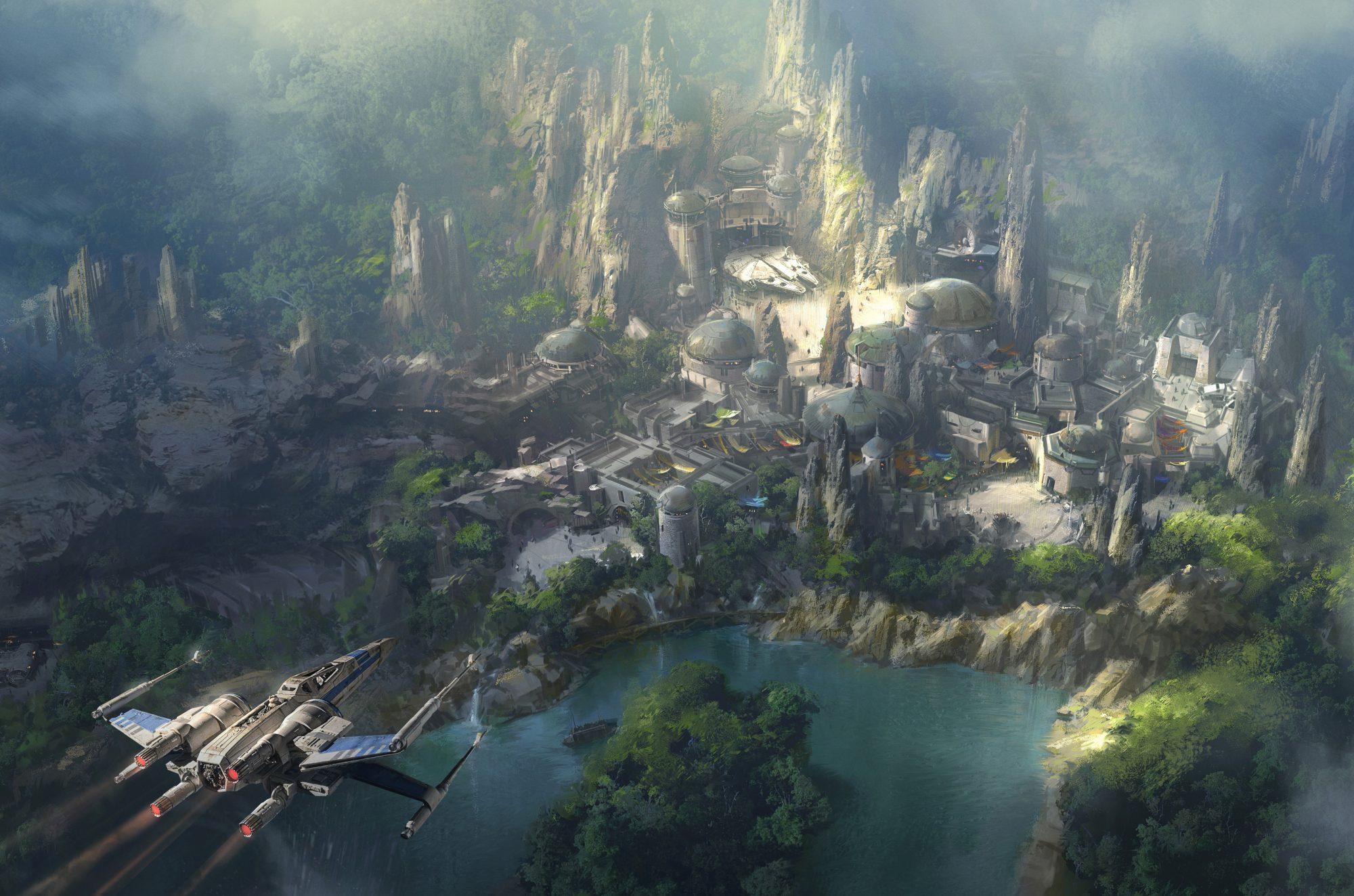 Star Wars-Themed Land At Disneyland Resort
