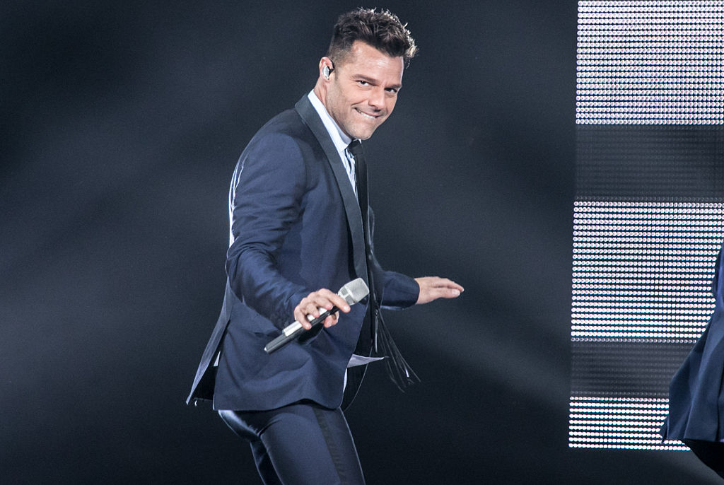 Ricky Martin Performs At American Airlines Arena