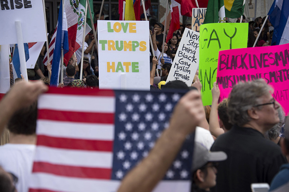 Anti-Trump Protesters Continue To Demonstrate Across The Country