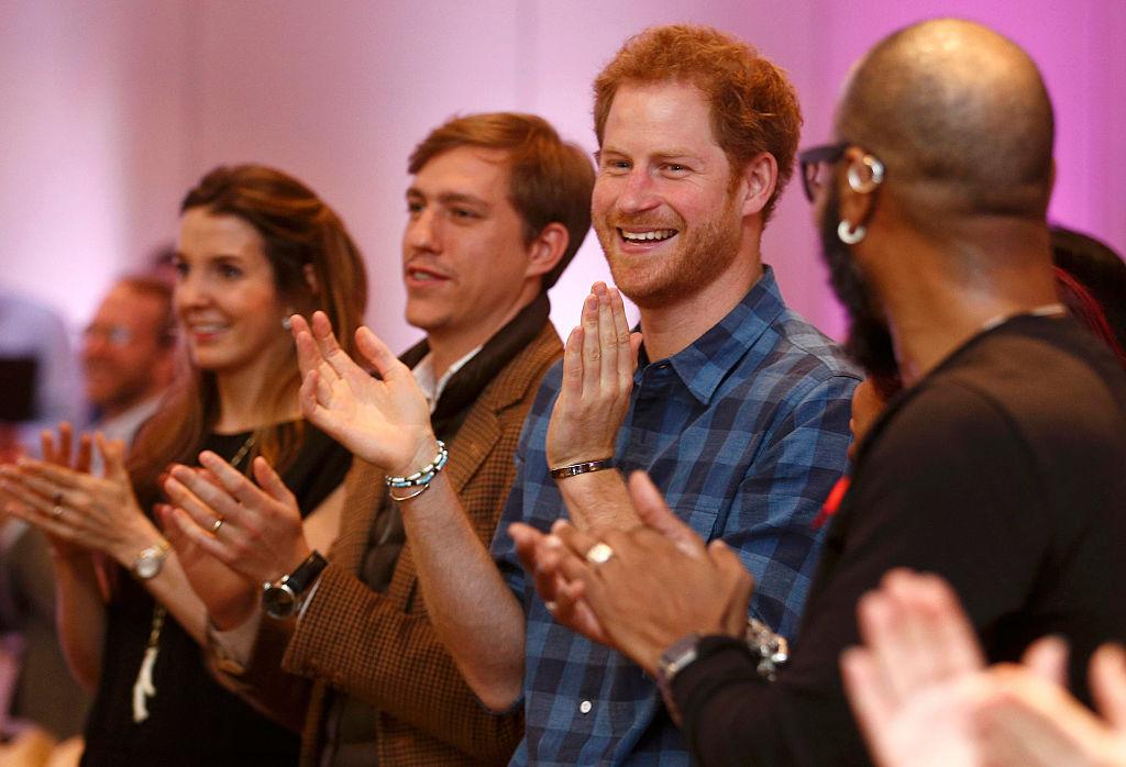Prince Harry Visits NAZ