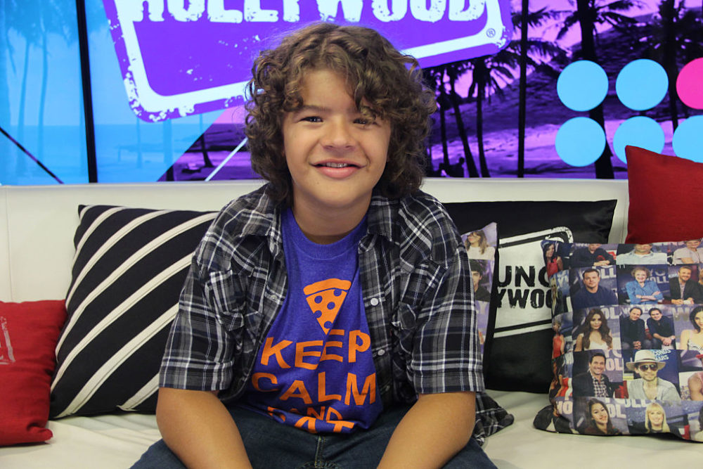 Stranger Things Cast Visit Young Hollywood Studio
