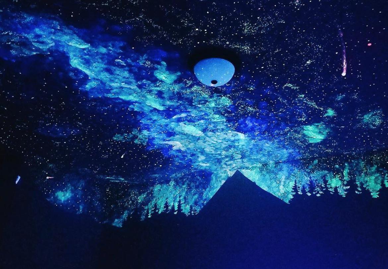 Star Mural Ceiling