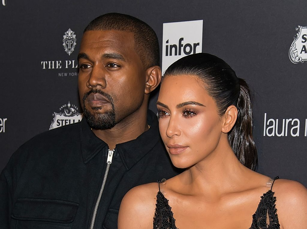 "kim kardashian and kanye west attend Harper's BAZAAR Celebrates ""ICONS By Carine Roitfeld"""