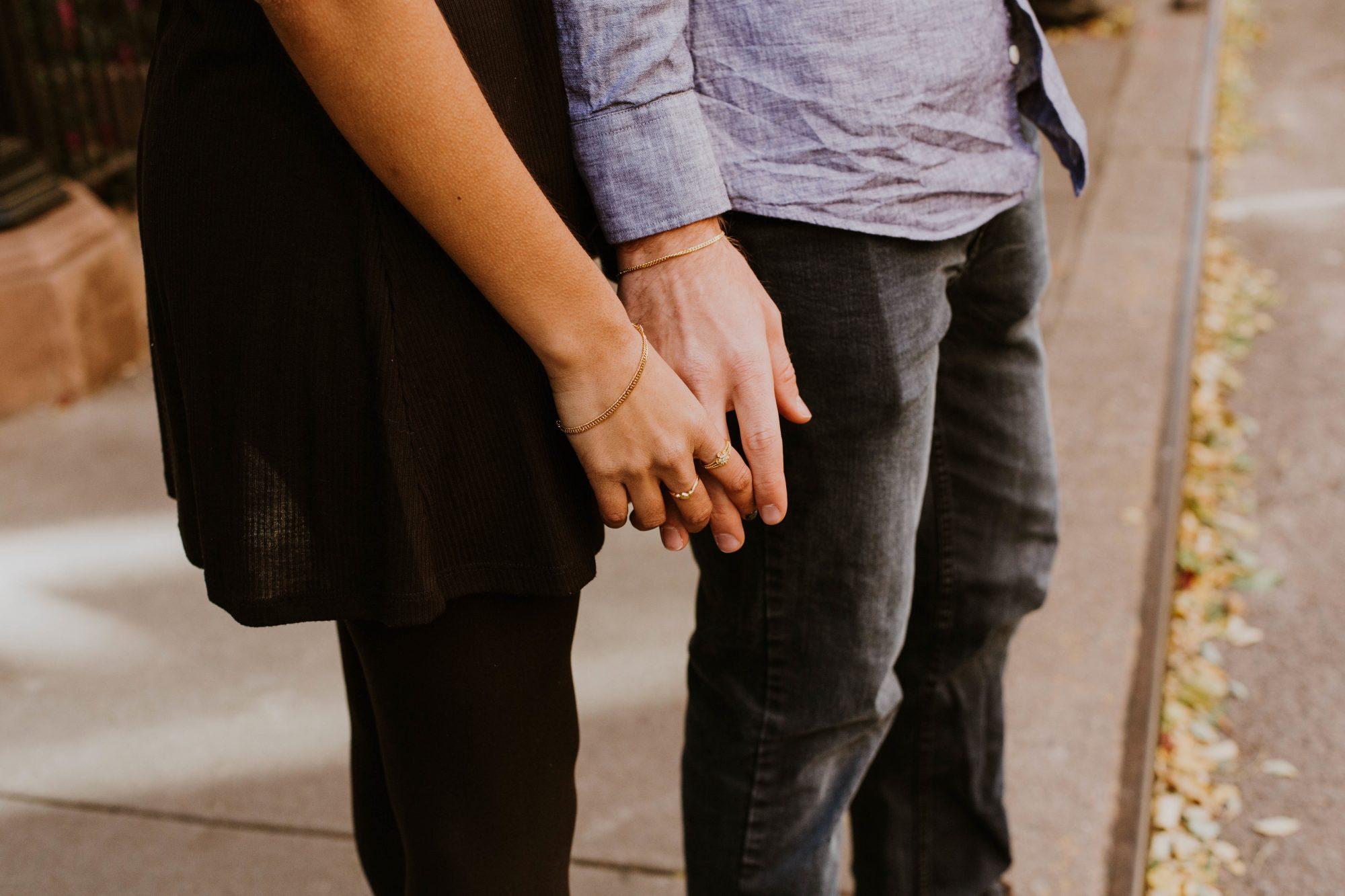 crush holding hands