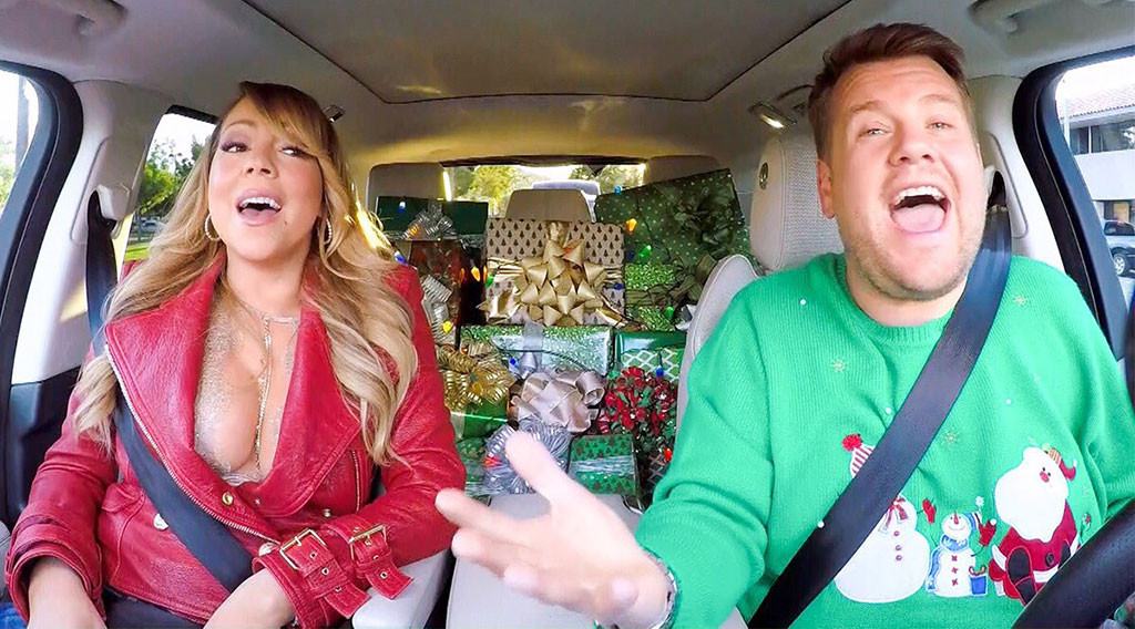 Mariah Carey Carpool Karaoke Xmas