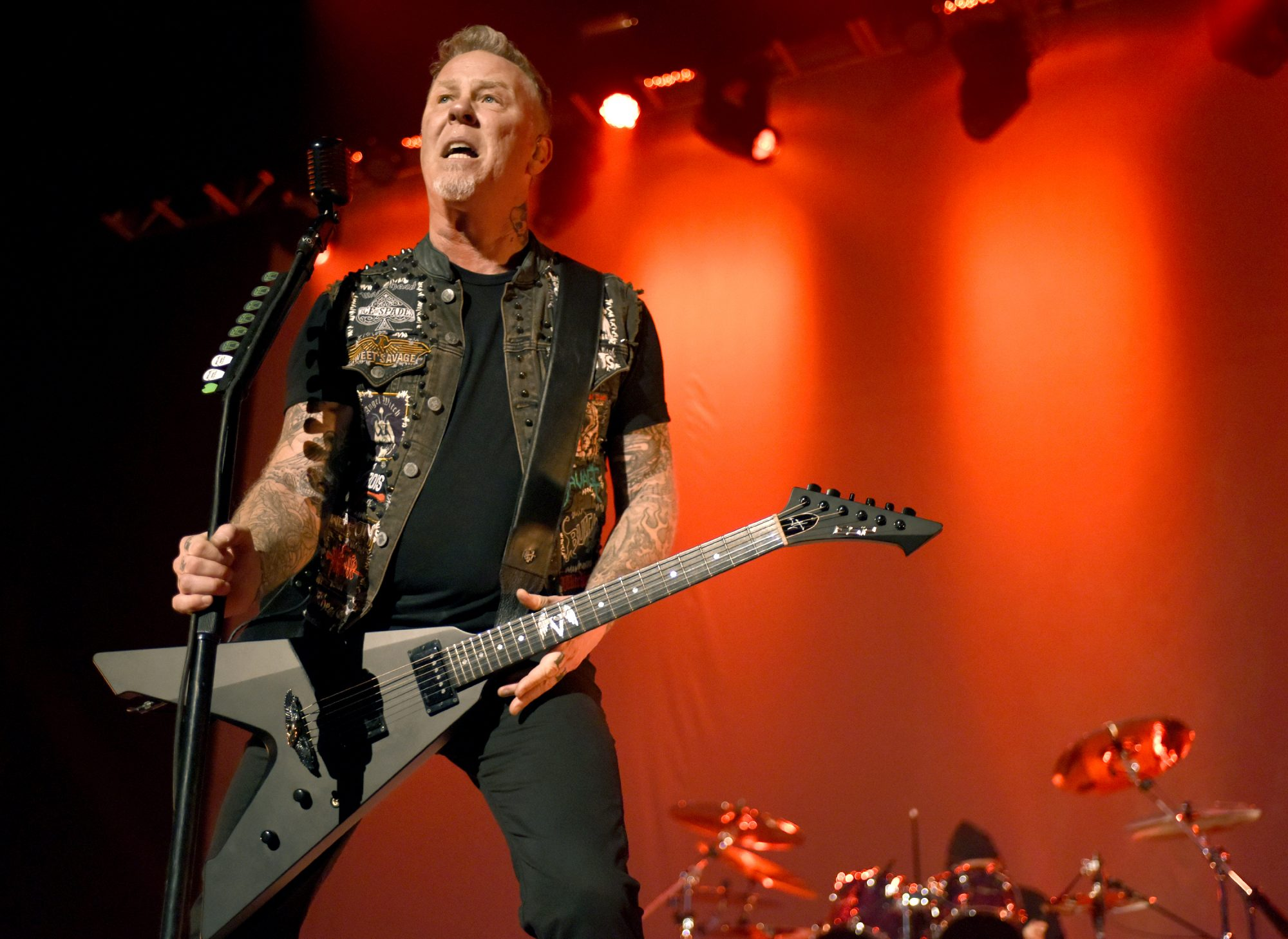 Metallica Performs At The Fox Theater