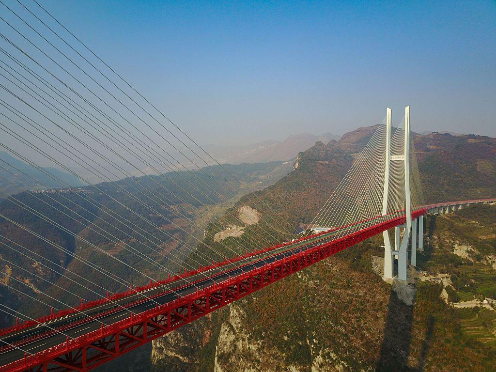 Beipanjian bridge china world's highest bridge