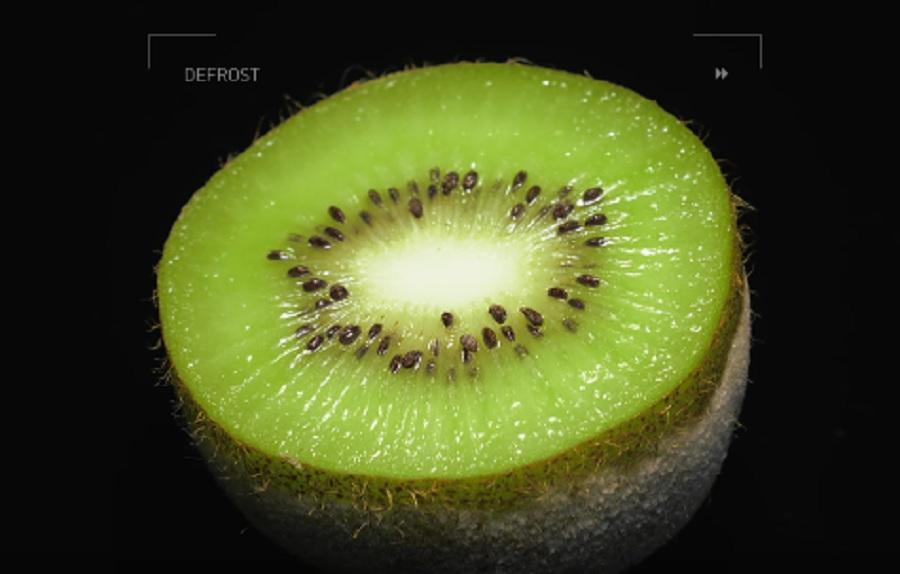kiwi-defrosting