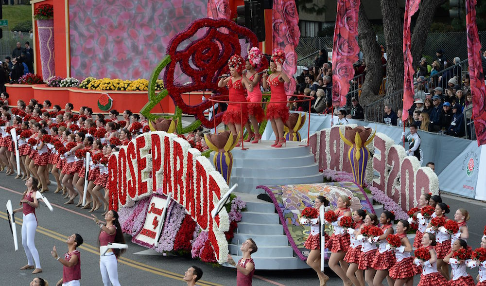 US-ENTERTAINMENT-ROSE BOWL PARADE