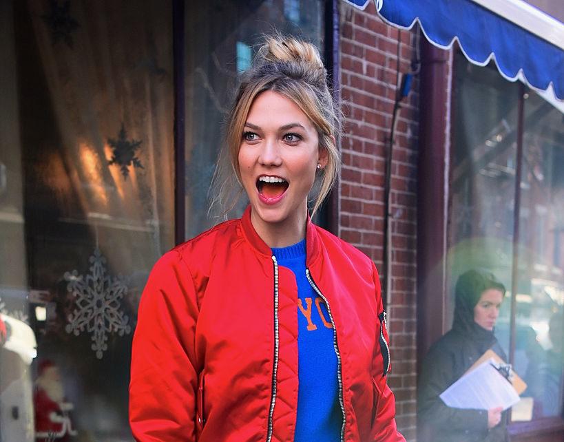 Celebrity Sightings in New York City - December 19, 2016