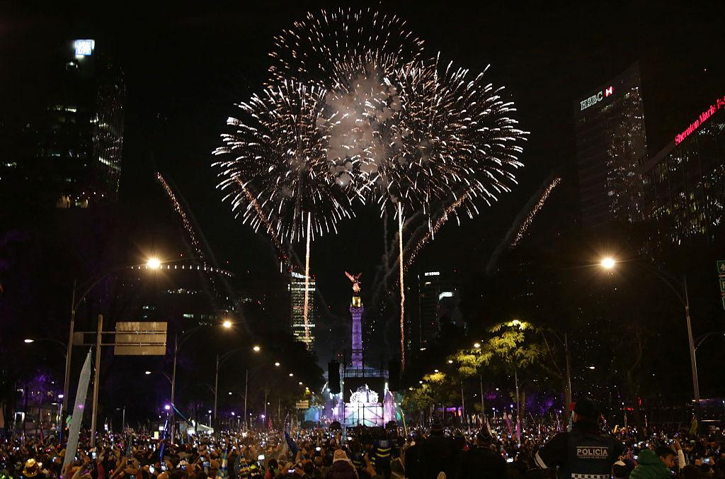 Mexico City New Year Celebration