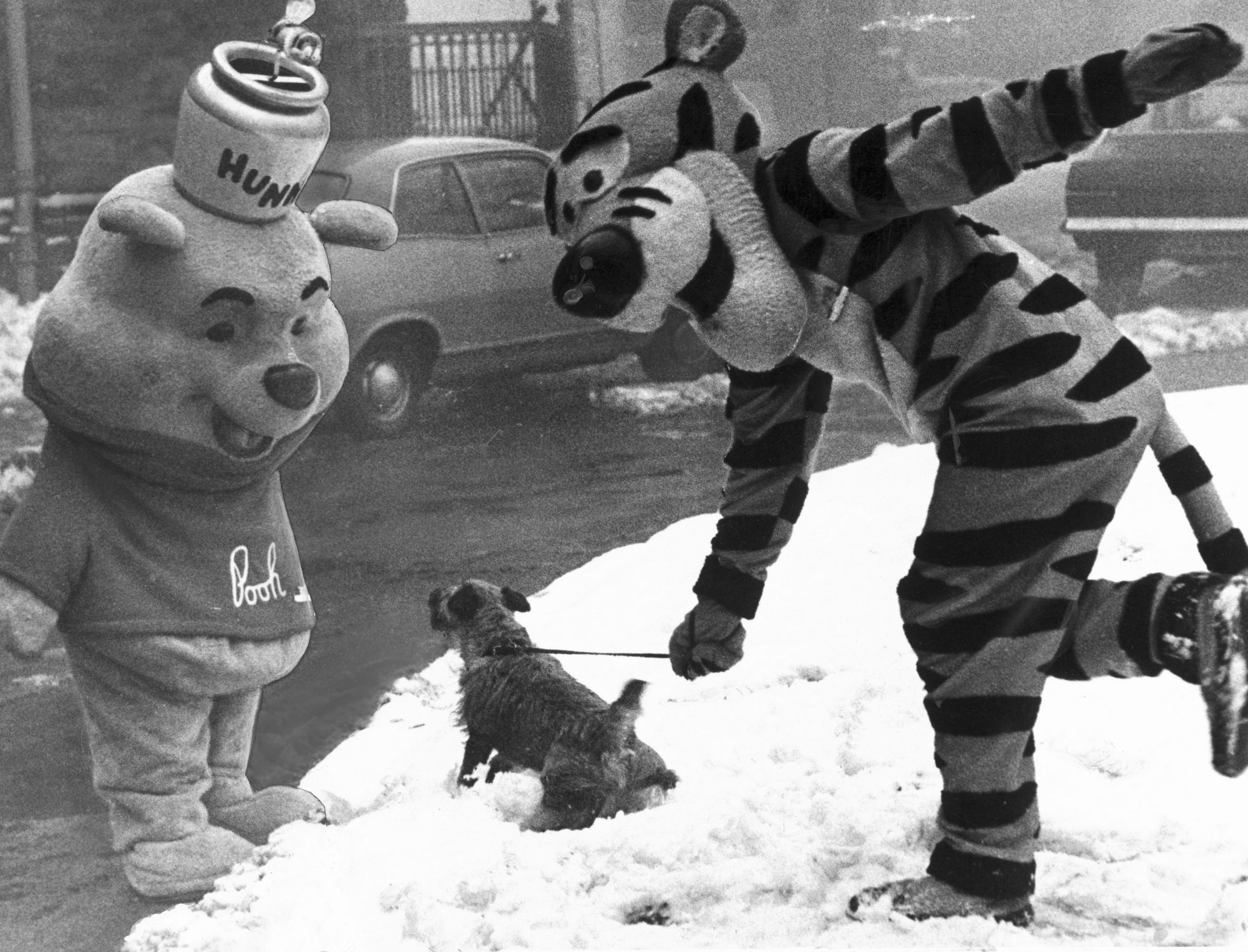 old winnie the pooh and tigger costumes