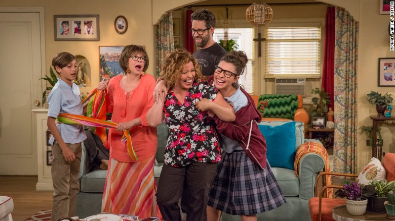 """A screenshot from """"One Day at a Time."""""""
