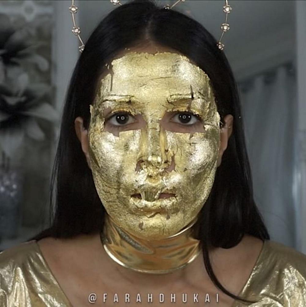 24k-gold-mask-diy