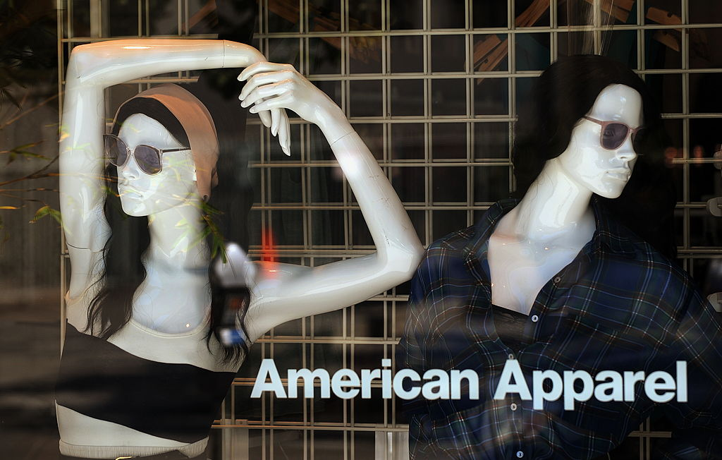 The exterior of an American Apparel clot