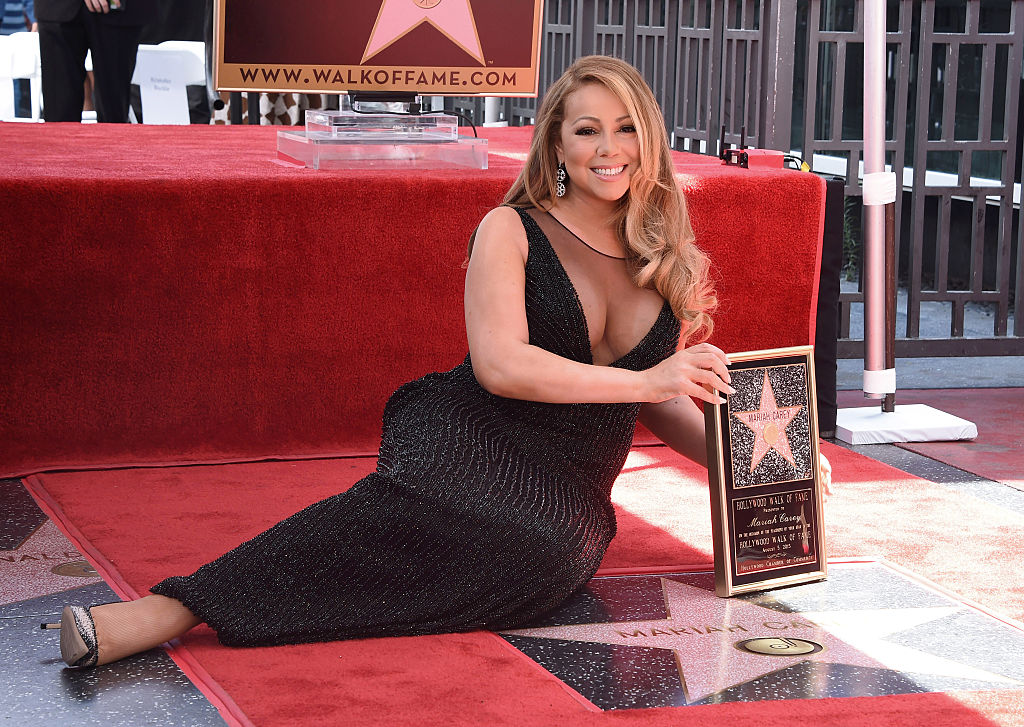 mariah carey hollywood walk of fame star