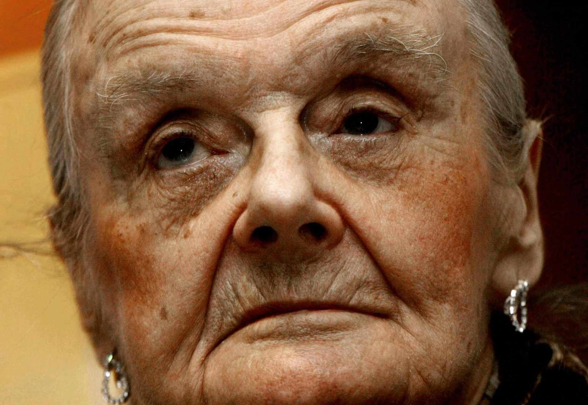 Clare Hollingworth, a 92-year-old former