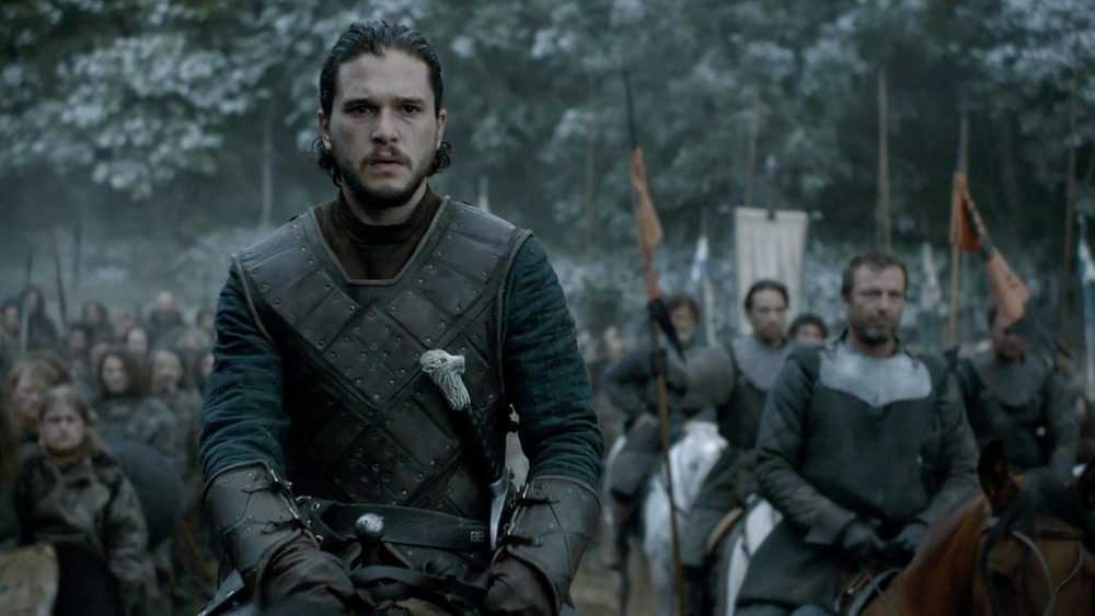 "Jon Snow from ""Game of Thrones"""