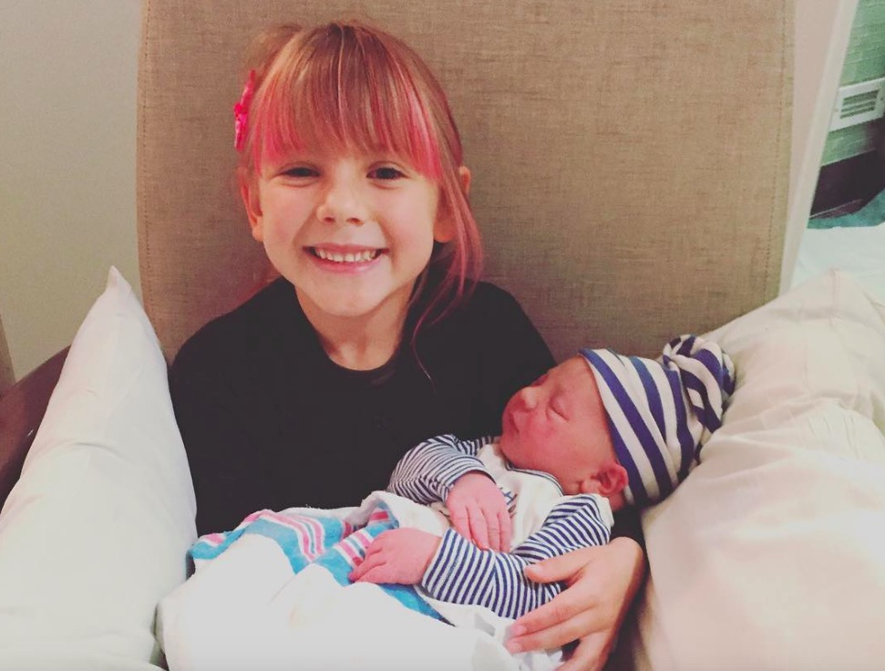 Pink's daughter Willow and son Jameson