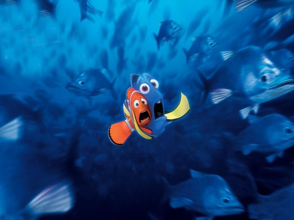 finding nemo scared