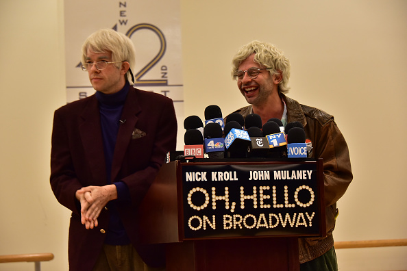"""Oh, Hello On Broadway"" Press Conference"