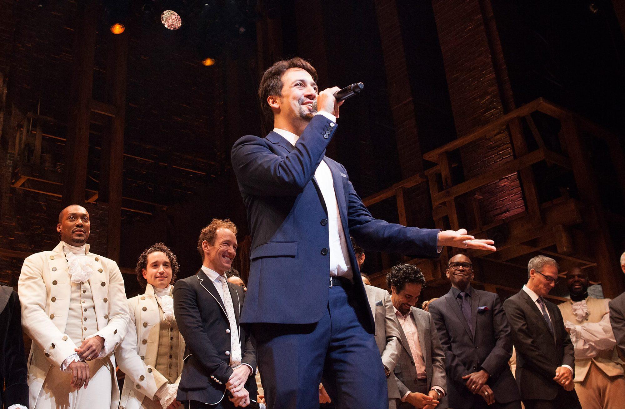 """""""Hamilton"""" Chicago Opening Night"""