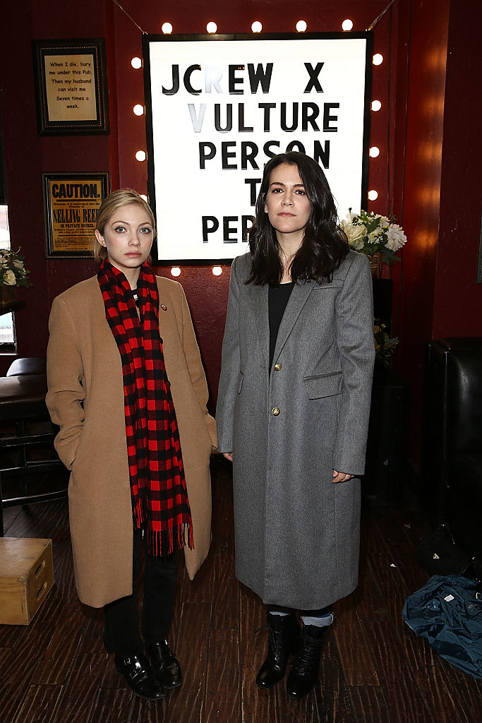 Tavi Gevinson and Abbi Jacobson