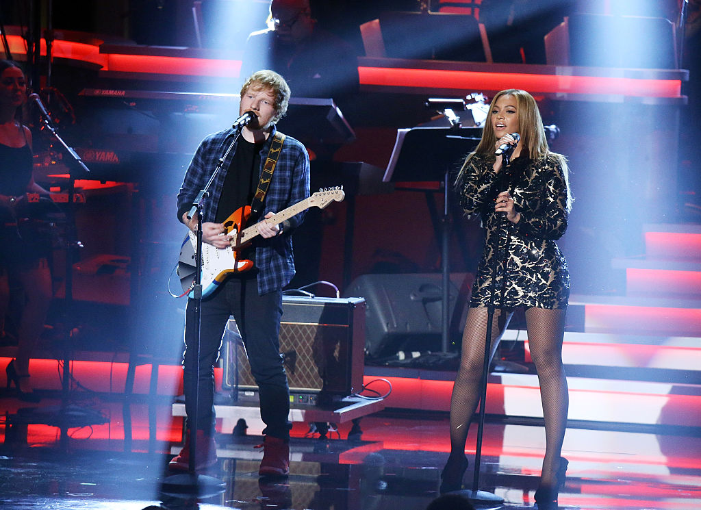 ed sheeran beyonce perform stevie wonder tribute