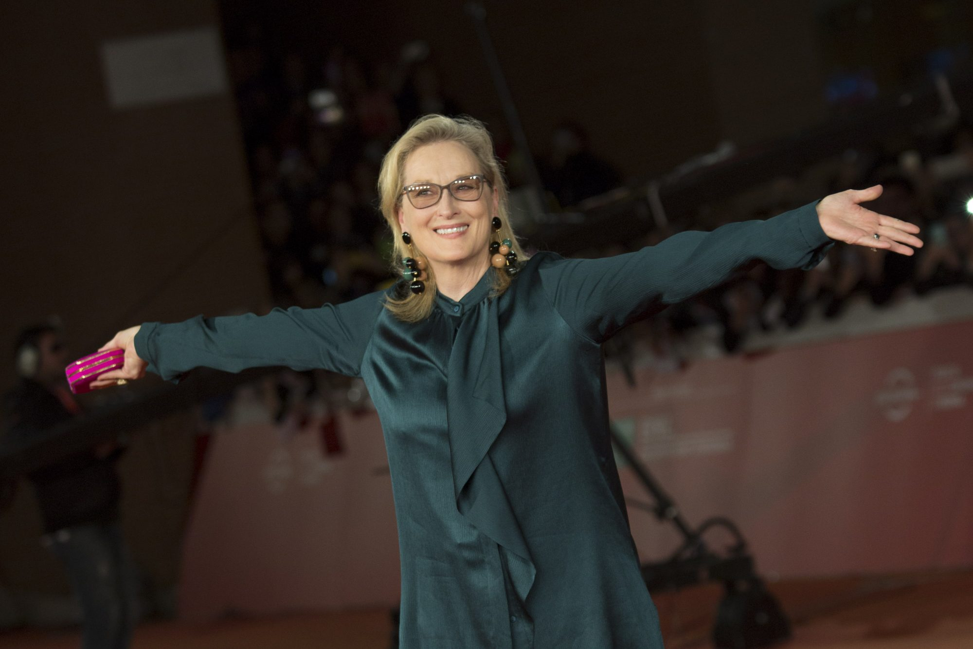 """Meryl Streep attends the red carpet of the film """"Florence"""