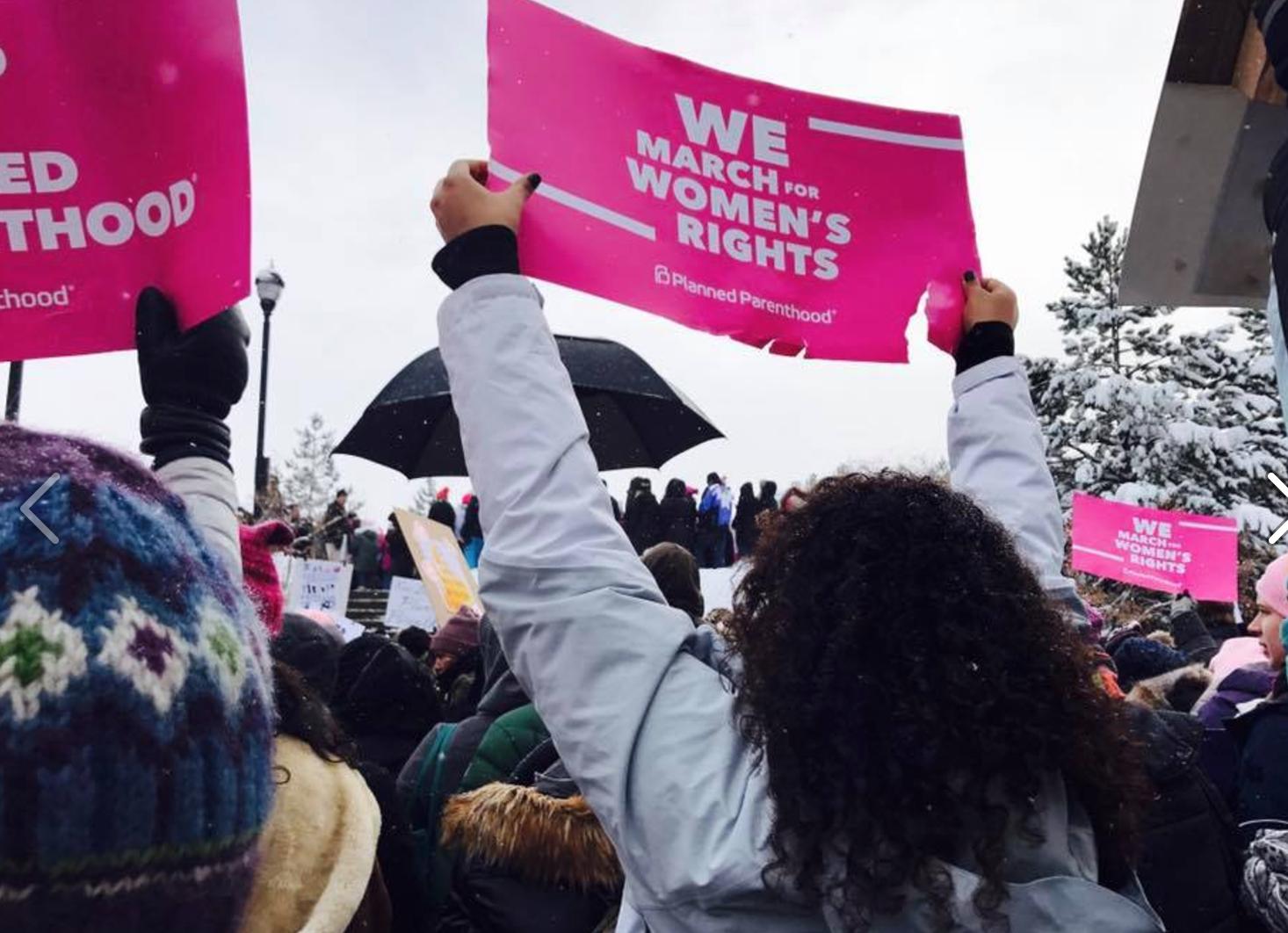 Women's March Sundance