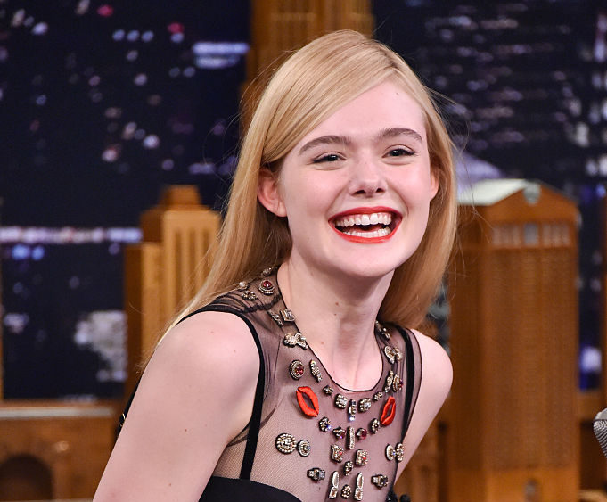 "Elle Fanning Visits ""The Tonight Show Starring Jimmy Fallon"""