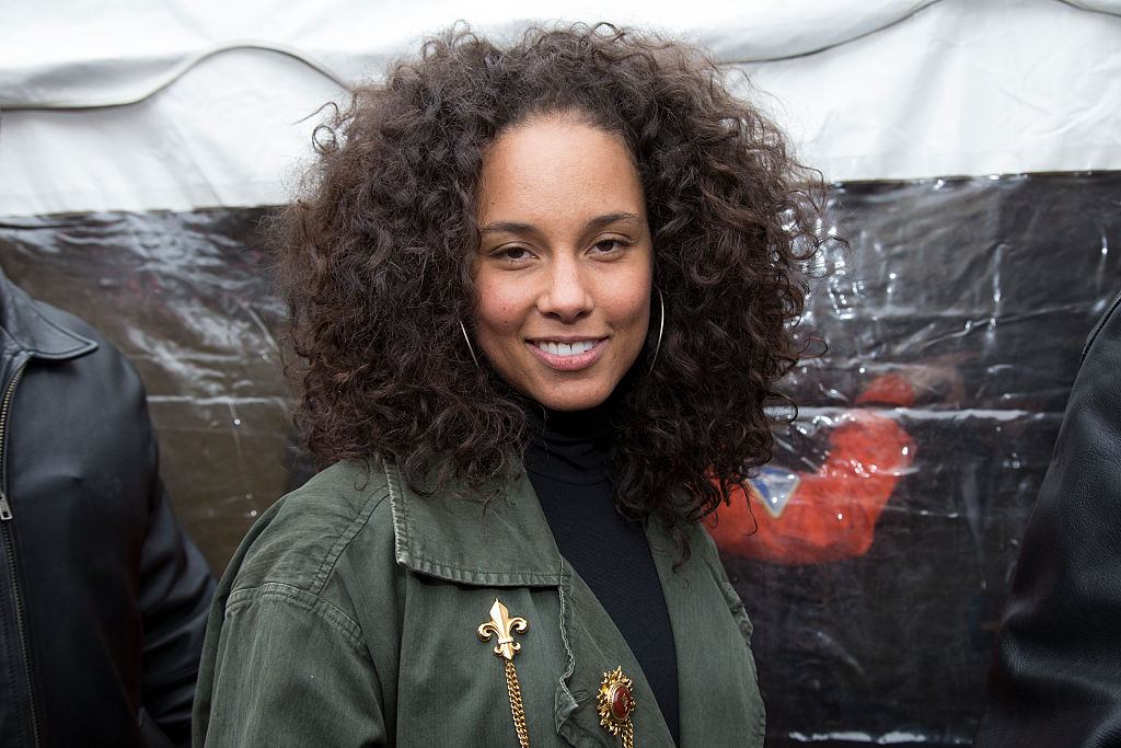 alicia keys appears at Women's March on Washington  Rally