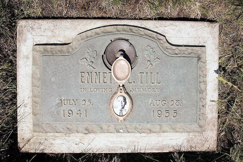 Emmett Till's headstone