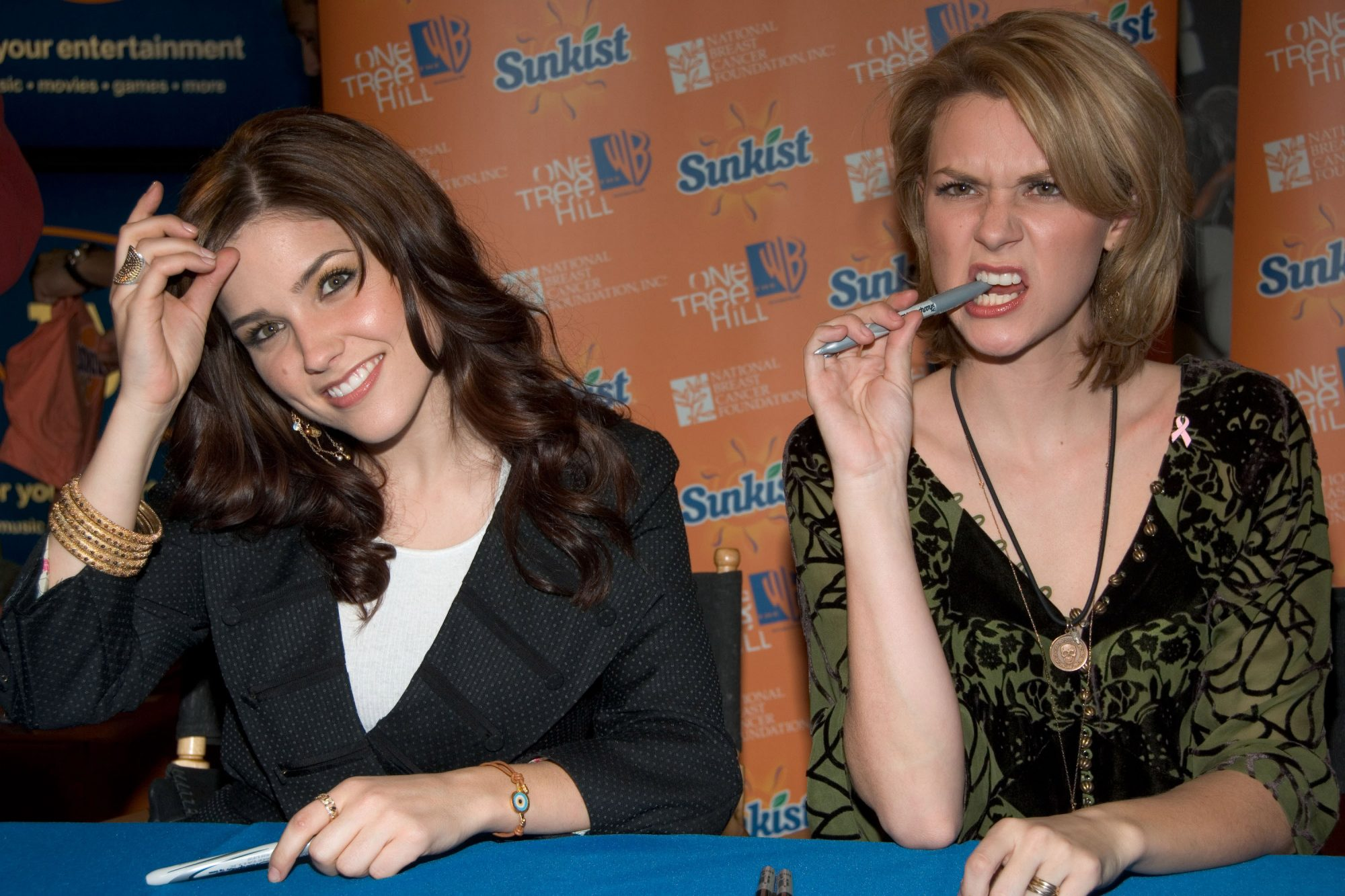 The Cast of One Tree Hill Appears at FYE in New York City - February 7, 2006