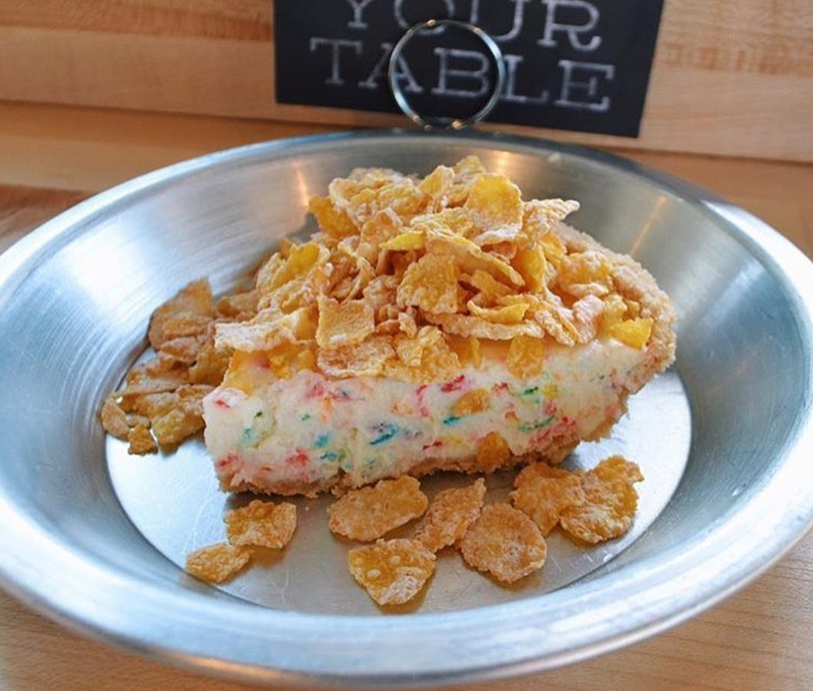 cereal cheesecake