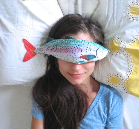 fish eye pillow