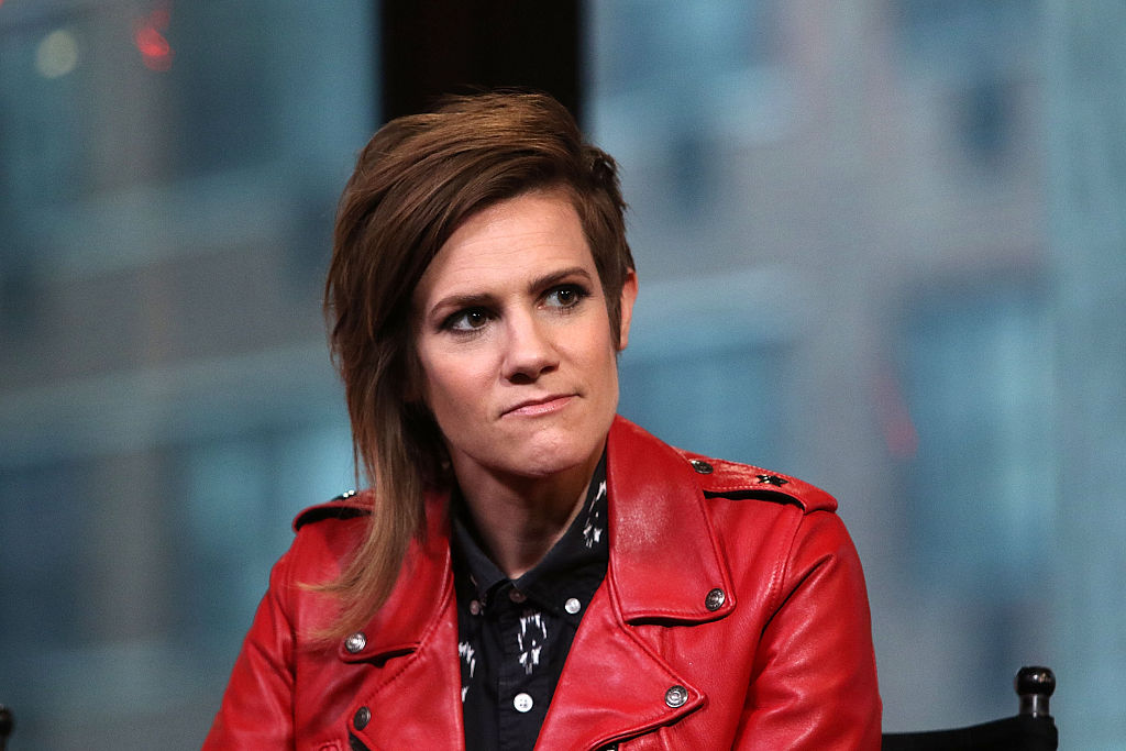 "AOL Build Speaker Series - Comedians Cameron Esposito And Rhea Butcher Discuss New Comedy ""Take My Wife"""