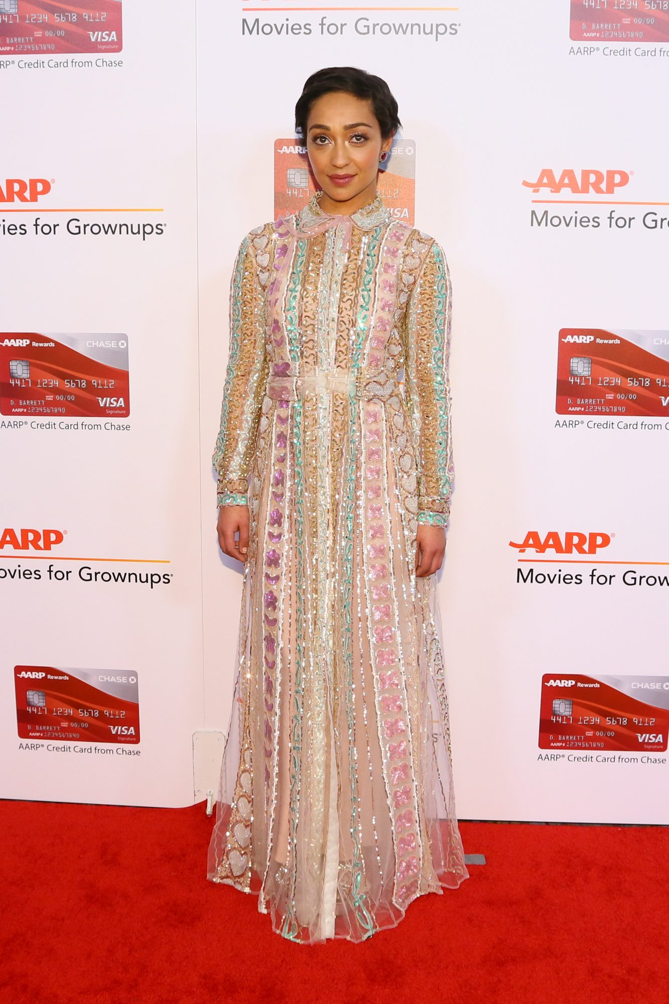 BEVERLY HILLS, CA - FEBRUARY 06:  Ruth Negga attends the 16th Annual AARP The Magazine's Movies For Grownups Awards at the Beverly Wilshire Four Seasons Hotel on February 6, 2017 in Beverly Hills, California.  (Photo by Gabriel Olsen/Getty Images for AARP)
