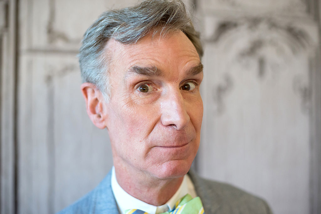Bill Nye the Science Guy attends the AOL Build Speaker Series to discuss the #FindYourPark series with the National Park Service at AOL HQ on August 22, 2016 in New York City.