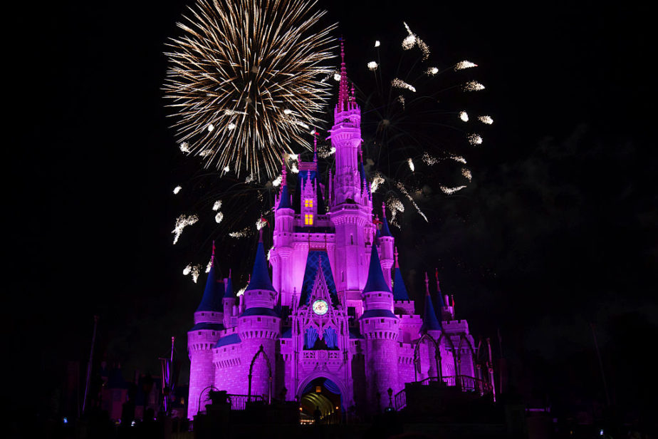 Fireworks Over Cinderella's Castle at Disney's Magic Kingdom