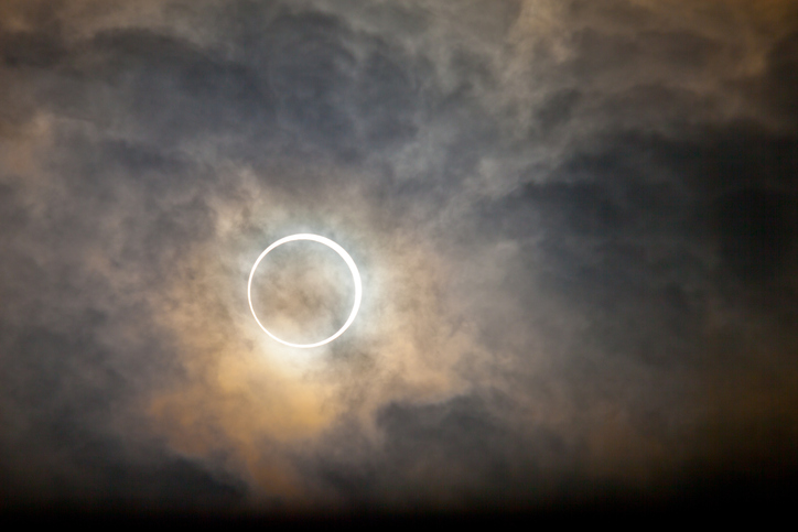 Tokyo annular solar eclipse 2012
