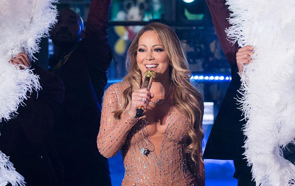 Mariah Carey New Year's Eve 2017 performance