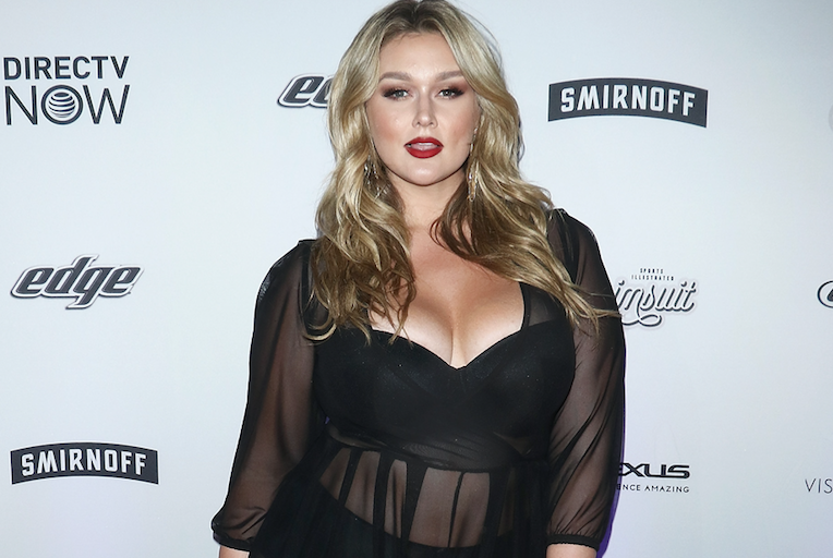 Hunter McGrady plus model