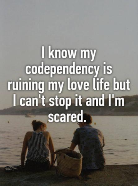 codependent whisper