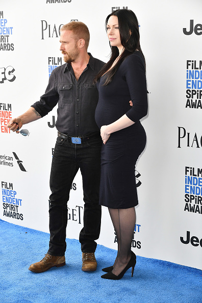 SANTA MONICA, CA - FEBRUARY 25:  Actors Ben Foster (L) and Laura Prepon  attend the 2017 Film Independent Spirit Awards on February 25, 2017 in Santa Monica, California.  (Photo by Earl Gibson III/WireImage)